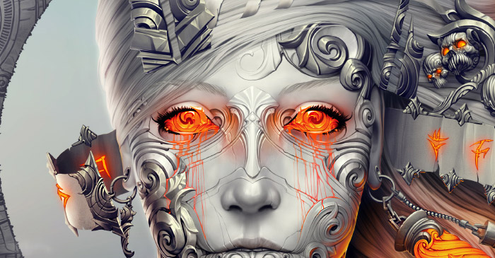 Cover Image for Eye Stunning Digital Art by Alexander Fedosov
