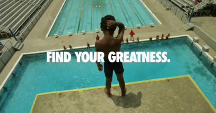 Creative Campaign: Nike - Find Your Greatness