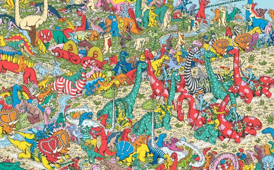 Time For A Little Game Where S Wally Thearthunters