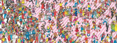 Time for a Little Game... Where's Wally?