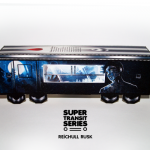 Super Transit Series: The Big Paper Toy Bombing