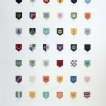 Game of Thrones - Sigils of the Houses of Westeros Poster