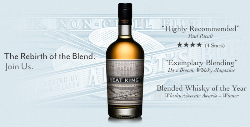 Great King Street Whiskey