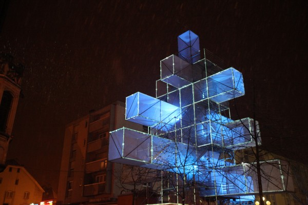 Christmas Tree Art Installation