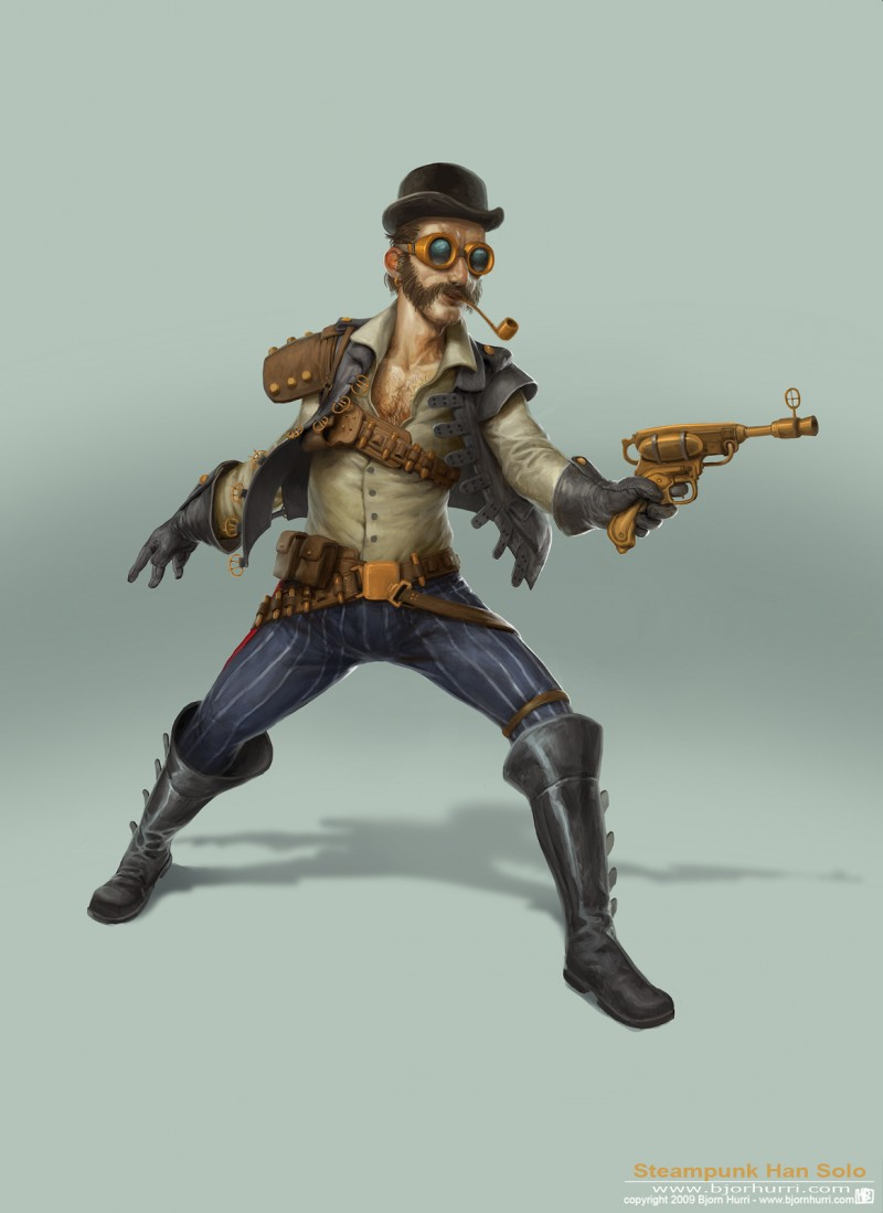 Steampunk Star Wars - Han Solo