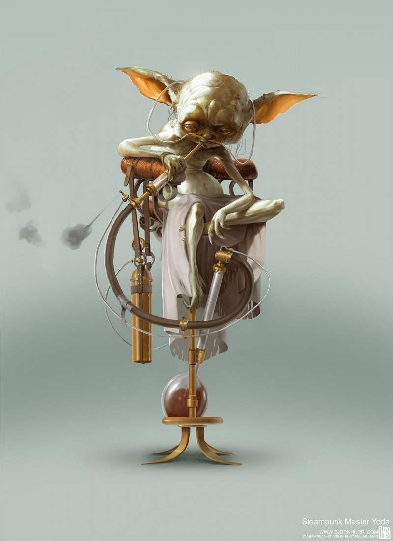 Steampunk Star Wars - Yoda
