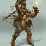 Steampunk Star Wars - Chewbacca