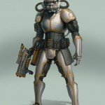 Steampunk Star Wars - Stormtropper