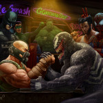 Bane vs Venom: Wrestling Addiction