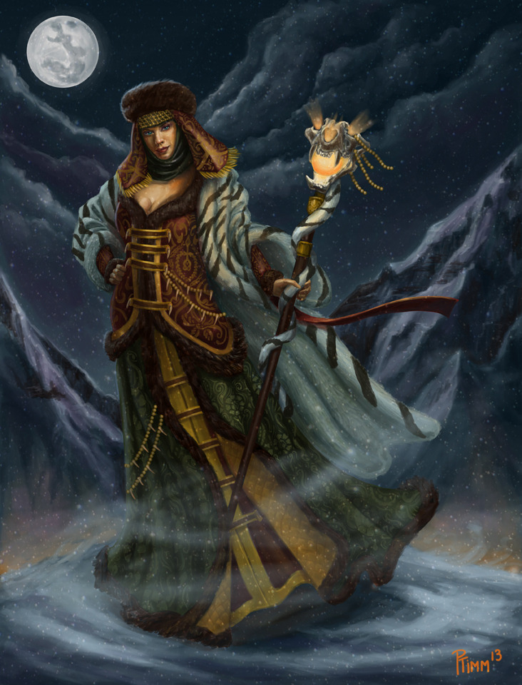 Russian Morgan le Fay