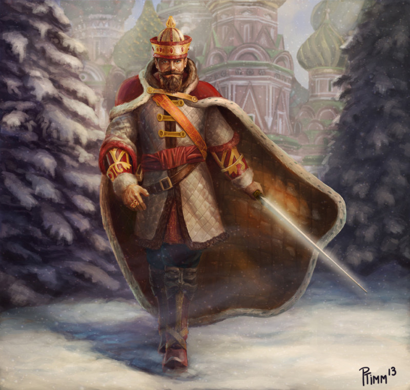 Russian King Arthur