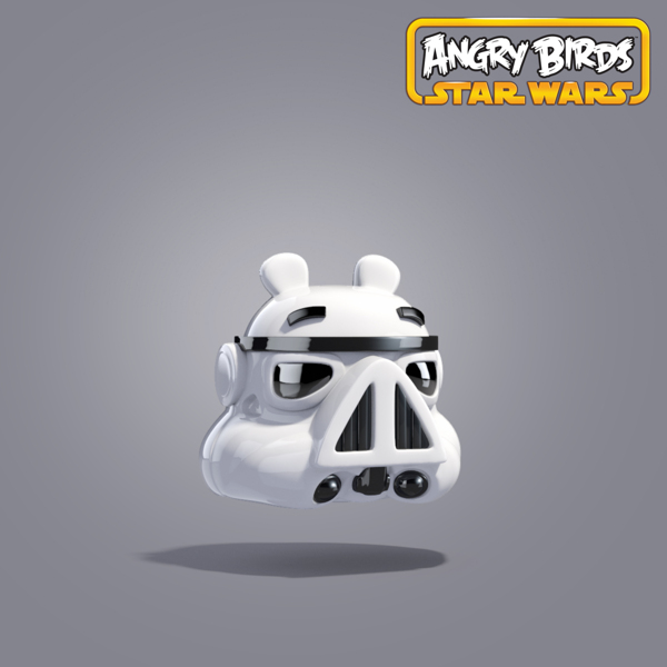 Angry Bird Star Wars Character
