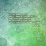 Planck quote poster, from Science quotation poster series