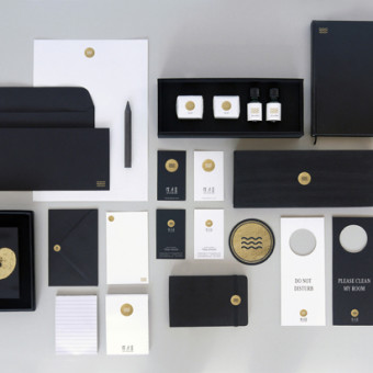 Brand Identity for Moon Water Home Hotel