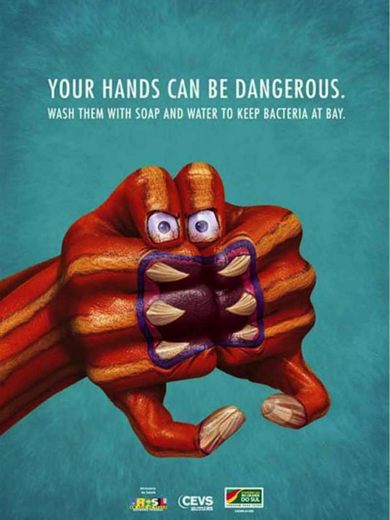 Your Hands Can Be Dangerous