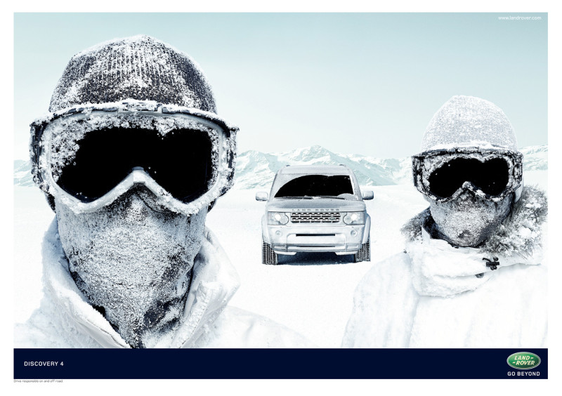 Land Rover: Goggles
