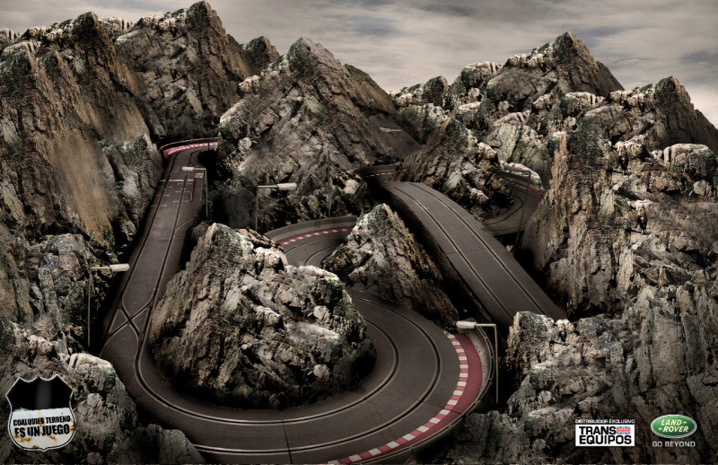 Land Rover: Any terrain is a game