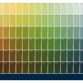 Land Rover: Colour Swatches