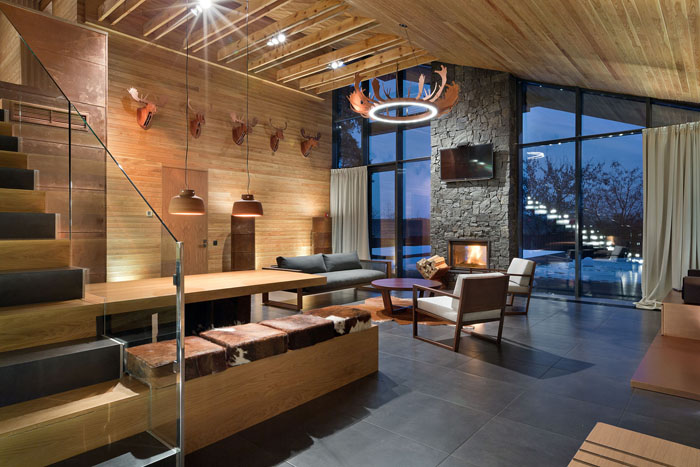 luxury chalet design thearthunters