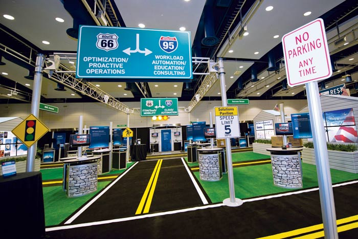 Trade Show Booth Visitors : Most inspiring trade show booth designs thearthunters