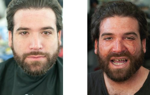 Special Effect Makeup – Before and After - TheArtHunters