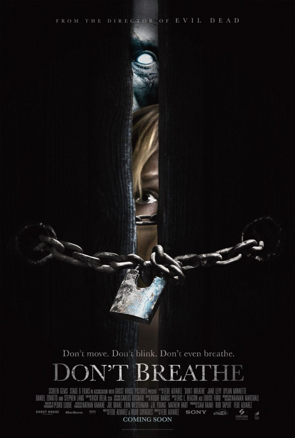 New Movie Posters for Don't Breathe - TheArtHunters