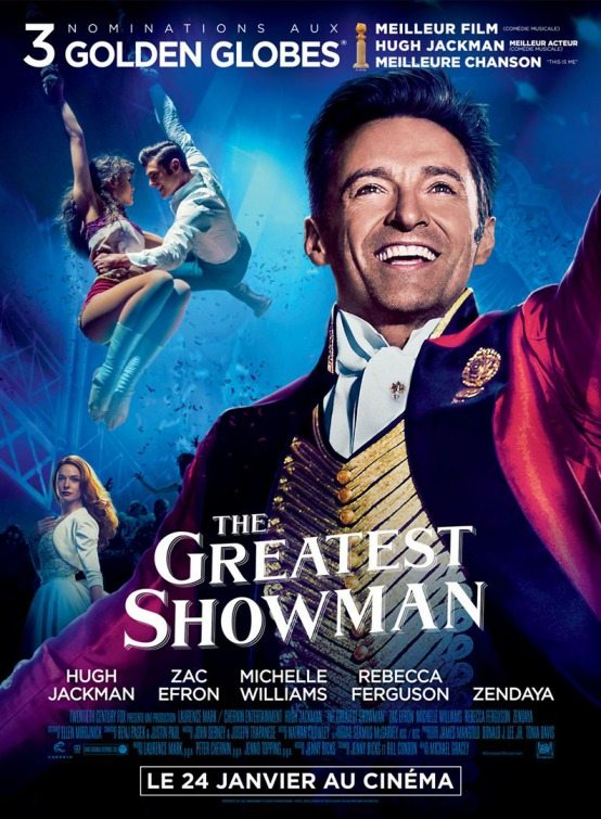 New Movie Posters For The Greatest Showman Thearthunters