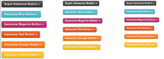 CSS3 - Buttons