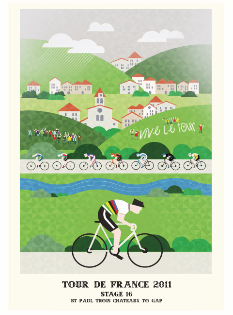 Tour de France 2011 Illustrated