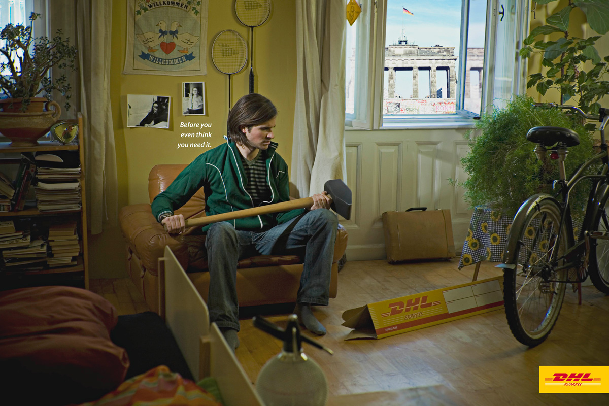 Creative Ad for DHL Express