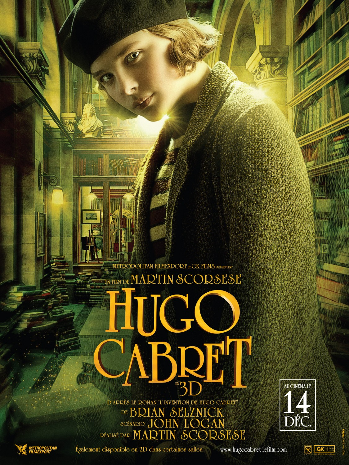 Movie Poster: Hugo