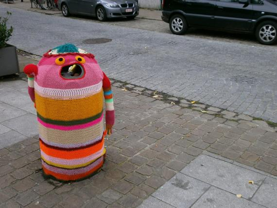 Street Art: Knitting
