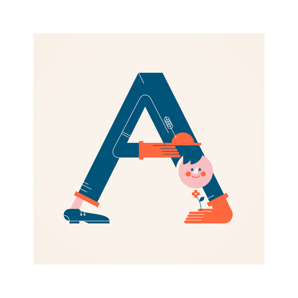 Typography Meets Illustration