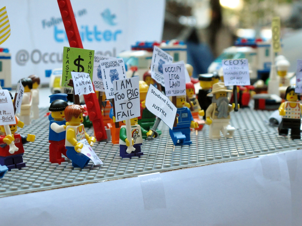 The News in Lego 2011