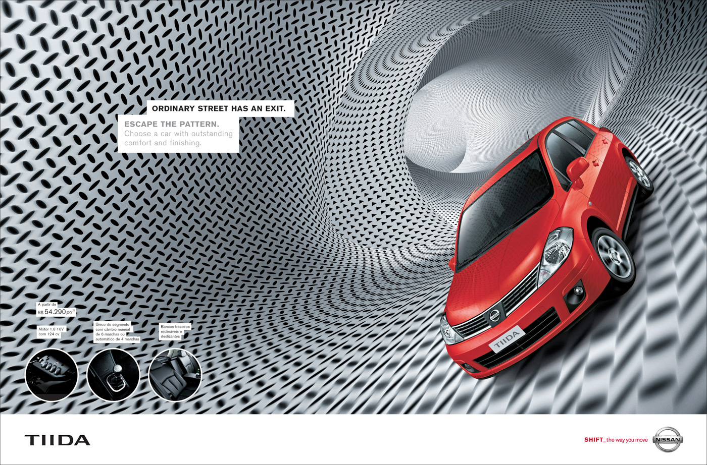 Creative Ad for Nissan