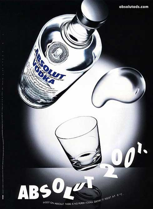 Creative Absolute Vodka Ads