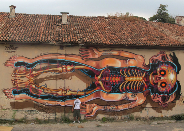 Impressive Street-, Graffiti- and Mural Art