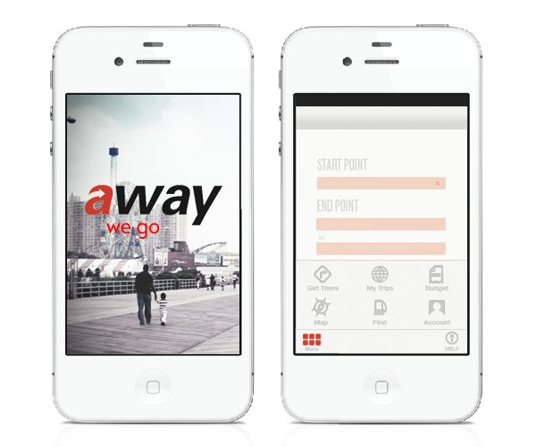 User Interface Design: Away App