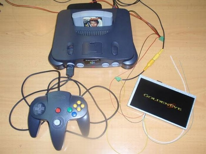 The Transformation of Nintendo 64 to a Handheld Console