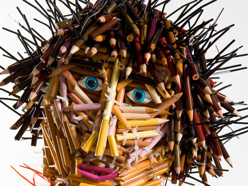 Creative Pencil Sculpture