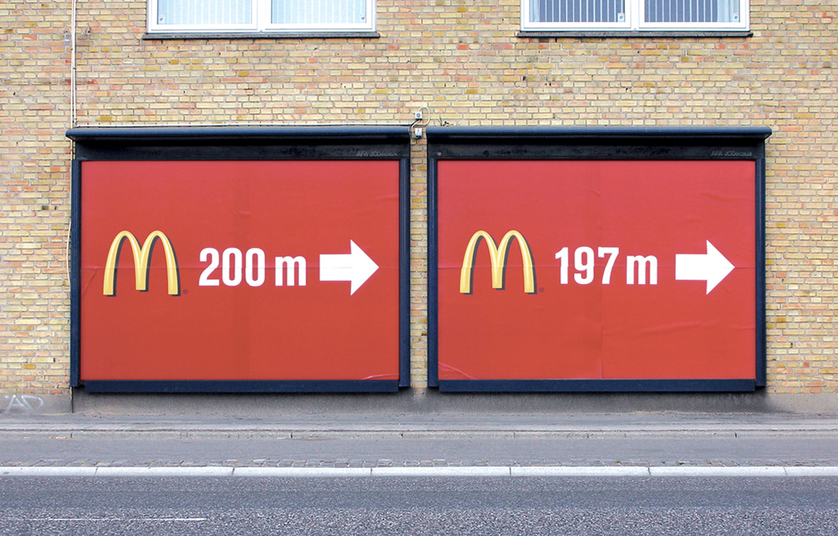 Creative Outdoor Ad