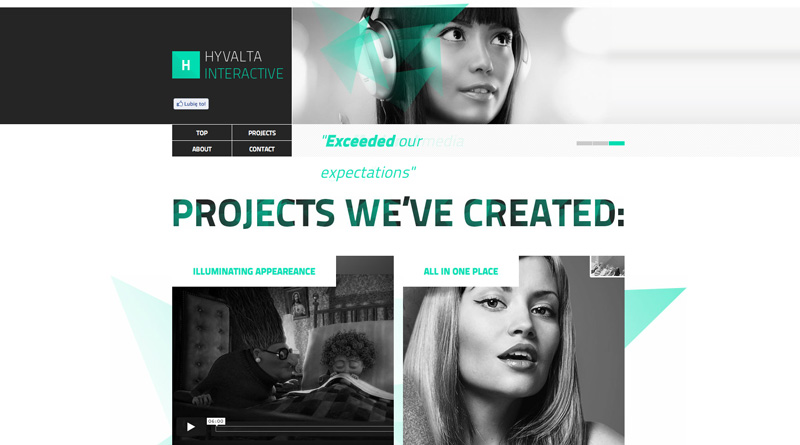 Web Design Inspiration: