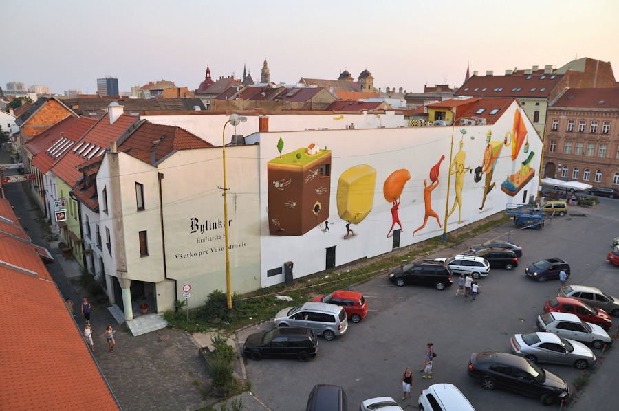 Awesome Street Art: Interesni Kazki