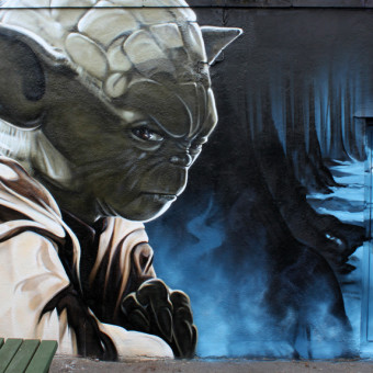 Awesome Street Art Character